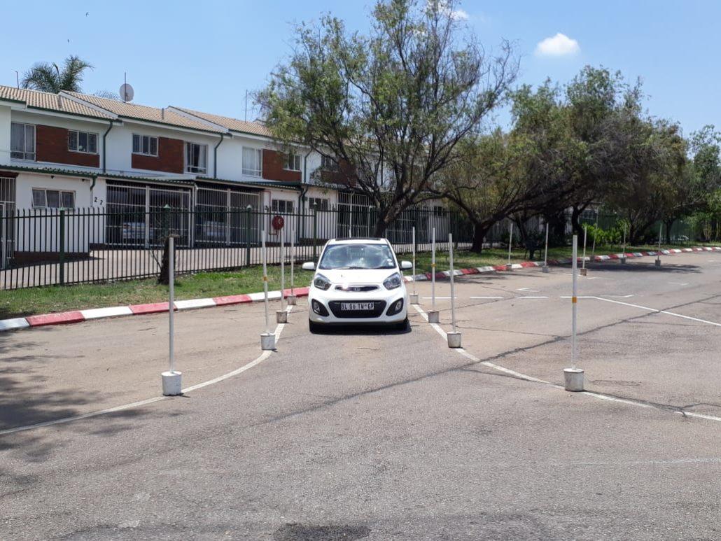 Alley docking yard test Pretoria Waltloo